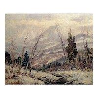 """""""Sierra Winter"""" by Jefferson Stephen Ward"""