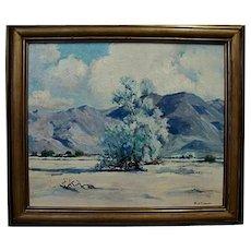 """Paul Conner  """"Smoke Tree-Blue Desert"""""""