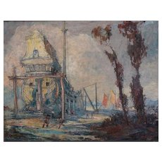 "Geoffrey Holt  ""Building the Galleon"""