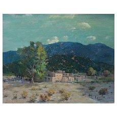 """Felice Hrovat  """"New Mexico Pueblo"""""""