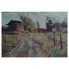 Paul Lauritz  Old Farm-Sonora California