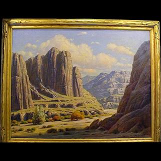 "Paul Grimm   ""Nature's Sculpture-Box Canyon"""