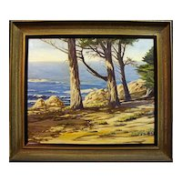 "Howard Rollins Loy   ""California Coastal Pines"""