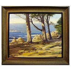 "Howard Rollins Loy   ""California Coastal Pines"""