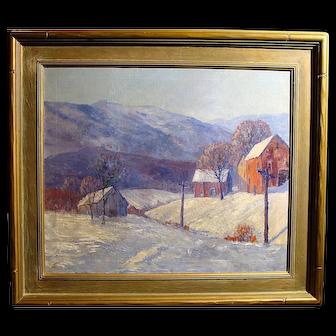 """A Winter's Day"" by William Beeken"