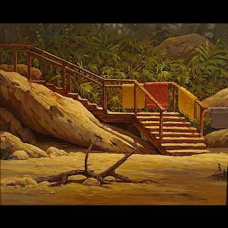 "Joseph Holbrook  ""Beach Access"""