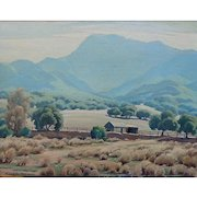 """Norman Yeckley """"California ranch"""""""