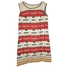 1967-68 Souper Dress, Campbell Soup/Andy Warhol