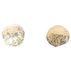 Vintage 14K Gold Post Earrings