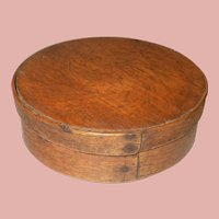 c.1800's Pantry Box Natural Finish