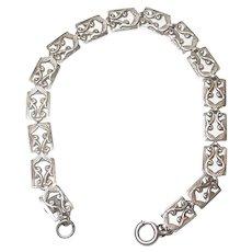 Vintage Danecraft Sterling Silver Bracelet