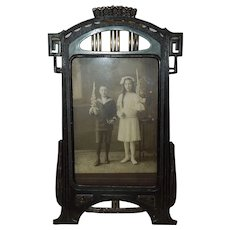 c.1900 German Jugendstil Tabletop Frame