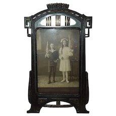 c.1900 German Jugendstil Tabletop Frame