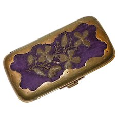 Victorian Card Case, Dance Card Clutch