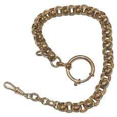 Victorian Gold Filled Pocket Watch Fob Chain