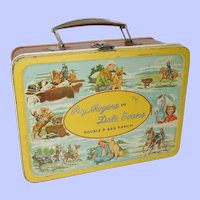 1950's Roy Rogers and Dale Evans Lunch Box