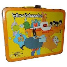 1968 Beatles Yellow Submarine Lunch Box