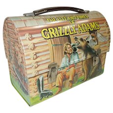 1977 Grizzly Adams Dome Top Lunch Box