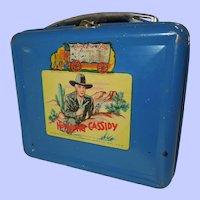 1950 Hopalong Cassidy Metal Lunch Box