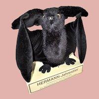 1992 Hermann Plush and Velvet Bat