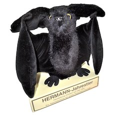 1992 Hermann Plush and Velvet Bat