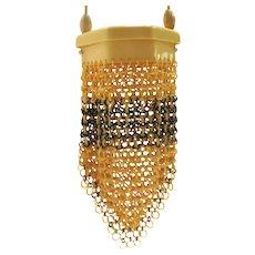 c 1930's Celluloid Rings Handbag/Purse