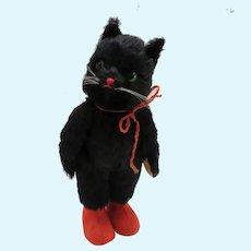 Vintage Kersa Black Cat Halloween Germany
