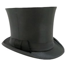 Silk Collapsible Top Hat