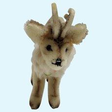 "Small Size Steiff ""Renny"" Reindeer"