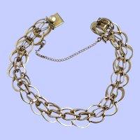 Vintage 12k Gold Filled Signed Bracelet