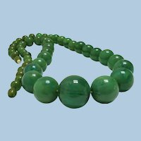 Vintage European Bakelite Bead Necklace