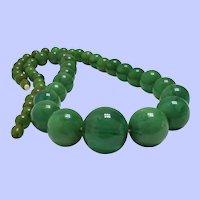 Vintage European Bakelite Bead Necklace