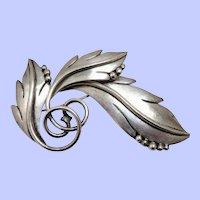 "Sterling Silver ""Maricela"" Tasco Pin/Brooch Mexico"