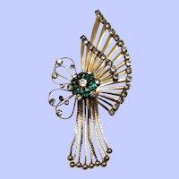 Vintage 12K Gold Filled M & S Brooch/Pendant
