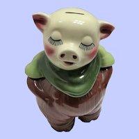 """Shawnee """"Smiley"""" Cookie Jar/Piggy Bank"""