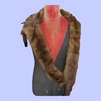 1920's - 30's Mink Pelt Shoulder Wrap/Stole