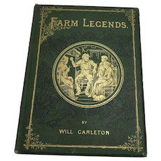 1875 Farm Legends By Will Carleton