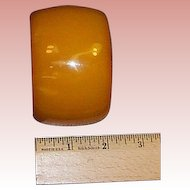 Extra Wide Butterscotch Bakelite Bangle 2""