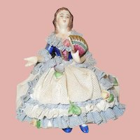 Dresden Lace Figurine