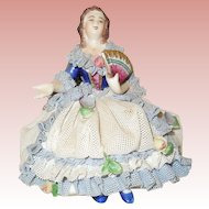 Dresden Lace Figurine