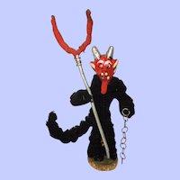 "1920's-30's Rare ""Krampus"" Austrian Christmas Devil"