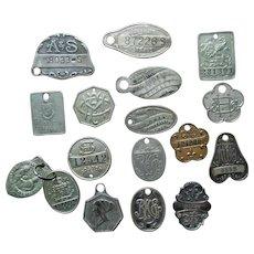 (17) Charge Coin Credit Card Trade Tag Plotkin Boston Straus Strawbridge Token