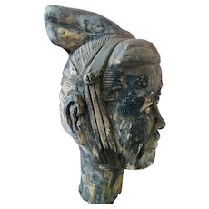 Ancient Chinese Terra Cotta Warrior Figure Statue Sculpture Museum Quality