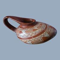 Emilio Molinero Hurtado Folk Art Mexican Pottery Water Vessel