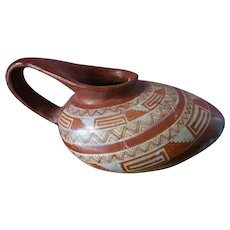Native American Hopi Pueblo Mexican Pottery Water Vessel