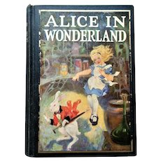 1925 Alice In Wonderland & Through The Looking Glass 89 Illustrations Tenniel & Prittie Color Plates
