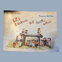 Les Chansons des Petits Bretons 2nd Album Songs of the Little Bretons Book