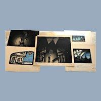 Robert Riggs 5 Faust Opera Theater Stage Original Art Paintings
