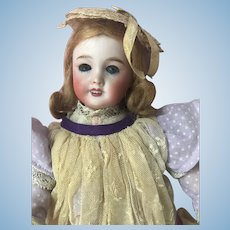 "Lovely French Paris 301 Bisque 10"" Blue Eyed Bleuette SFBJ Doll"