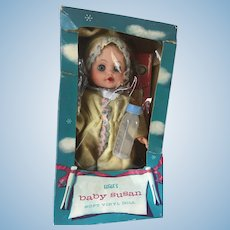 "Vintage 1950's Eegee Baby Susan 8"" Doll in original box"